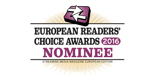 [OnlineSeminar is genomineerd voor een European Readers' Choice Award in de categorie beste Webcast Platform]