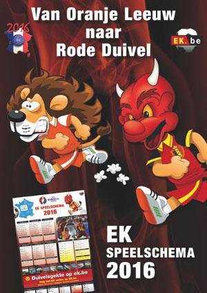 [Van EK.nl naar EK.be - Van Oranje Leeuw naar Rode Duivel]