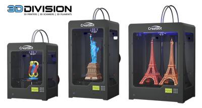 [Creatbot 3D printers kiest 3D Division als distributeur in de Benelux]