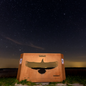 Stichting 40 Mijl: Midzomernacht in Dark Sky Park en NP Lauwersmeer