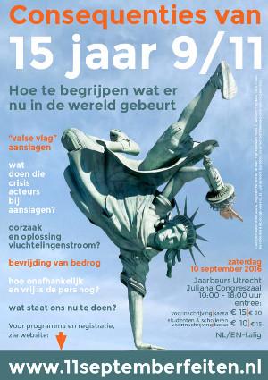 Congres 'Consequenties van 15 jaar 9/11' in Jaarbeurs Utrecht