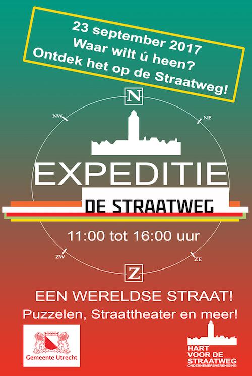 Op expeditie over de wereldse Amsterdamsestraatweg