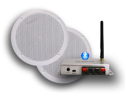 Bluetooth speakersysteem van AquaSound voor de smartphone