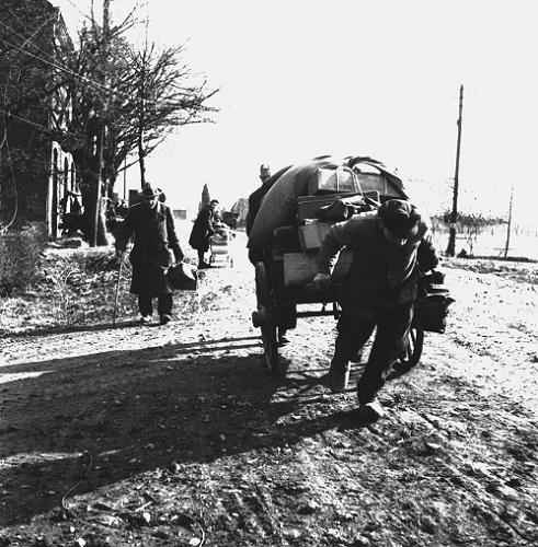 [Film 'Krieg am Niederrhein' in Bevrijdingsmuseum Groesbeek]