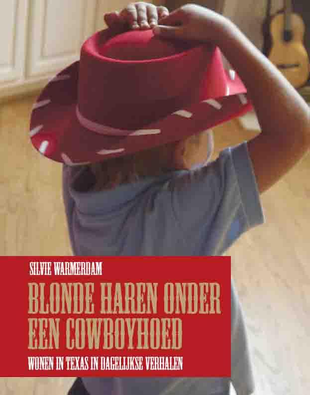 [Boek-cover: Blonde haren onder een cowboyhoed]