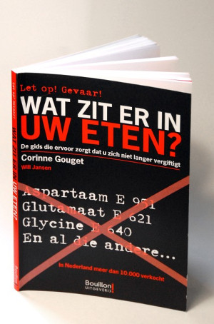 Gouget is ook in ons land bekend via haar gidsje 'Wat zit er in uw eten?'