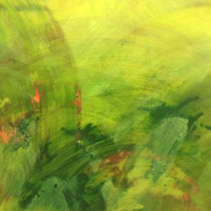 Haar groene vierkante schilderij Nature 2 maakte zo'n positieve indruk op de jury van Art takes Manhattan dat Brighart een expositie in galerie Caelum in Chelsea New York won.