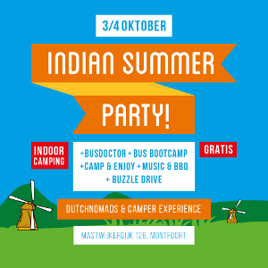 Volkswagenmekka organiseert indoor campingevent: Indian Summer Party