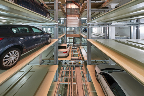 Sneak preview volautomatisch parkeersysteem in Den Haag