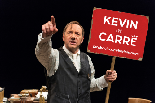Christiaan Kuyvenhoven wil Kevin Spacey live in theater Carré