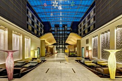 [Hilton Frankfurt Airport beste luchthavenhotel ter wereld]
