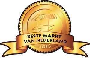 De genomineerden in de strijd om de verkiezing van De Beste Markt van Nederland 2015 zijn bekend.