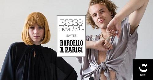 [Disco Total versus Bordello A Parigi in Club Claire, Amsterdam]