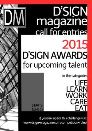 D'SIGN Awards voor designers van start