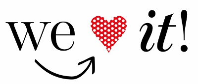 [We Love It logo]