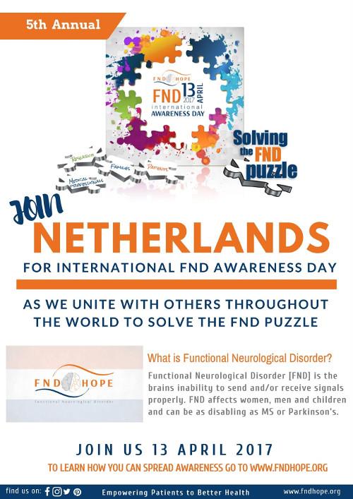 FND Awareness Day ook in Nederland
