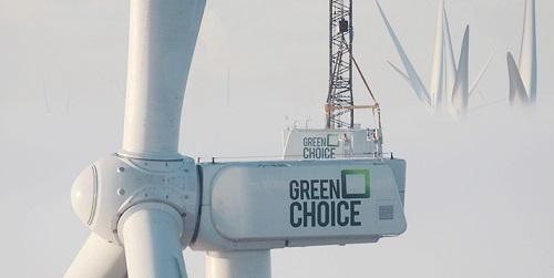 [1.700 kerken over op 100% windenergie uit Nederland van Greenchoice]