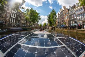 Op 14 september start bij de Westergasfabriek de tweede editie van de Amsterdam Solar Boat Parade.