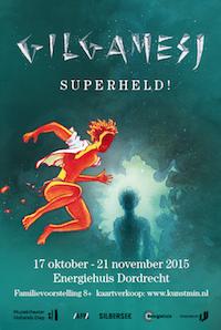 [Affiche Gilgamesj van Muziektheater Hollands Diep