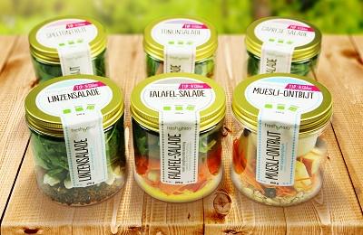 [Studio DIN ontwerpt 'Salades in jar' voor Heemskerk Fresh & Easy]