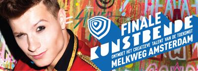 De winnaars van de voorrondes van Kunstbende staan zaterdag 3 mei in de finale in de Melkweg te Amsterdam.