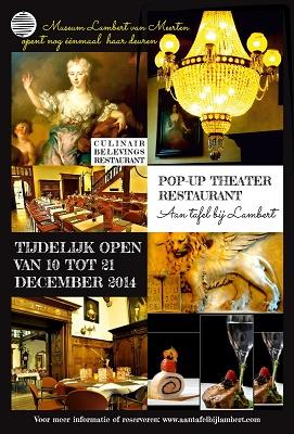 [Uniek culinair theater concept in Museum Lambert van Meerten]