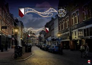 Wethouder onthult nieuwe sfeerverlichting Utrecht