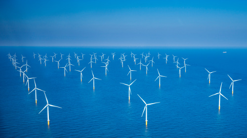 Alle 50 molens windpark Nobelwind nu operationeel