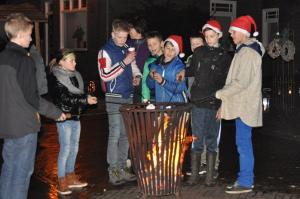 Markten tijdens Sinterklaasintocht en Winterbeleving in Mill