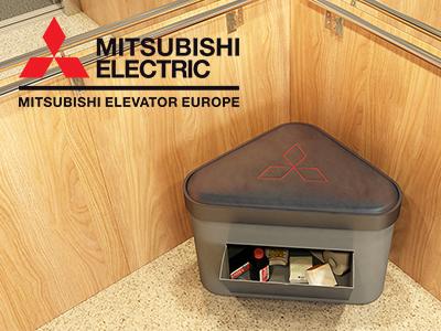 Nederlandse Mitsubishi liften worden uitgerust met een toilet