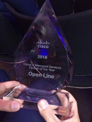 [Cisco Partner Award voor Open Line]