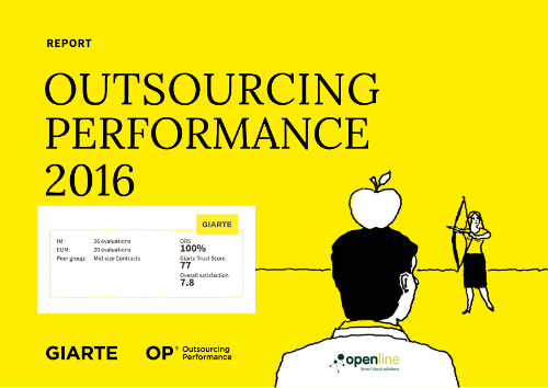 [Voorkant rapport Giarte Outsourcing Performance]