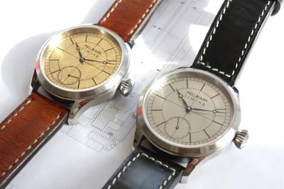 Pellikaan Timing brengt een limited editie uit van zijn Flying Dutchman horloge. Het heeft een wijzerplaat van bladgoud.