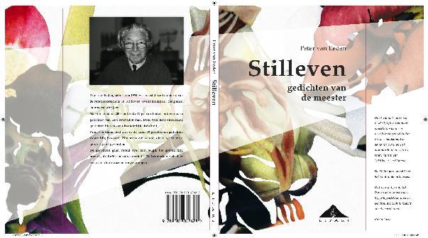 Omslag van de dichtbundel 'Stilleven' van Peter van Eeden. Ontworpen door Hanneke Buurman 2010.