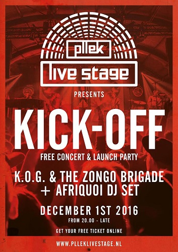 [Affiche 'Pllek Live Stage, de officiele launch party + gratis concert']