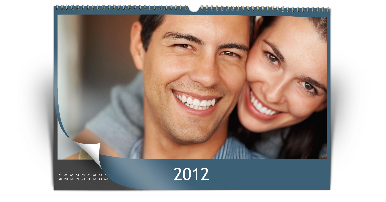 Hoogglans fotokalender van Printing-1