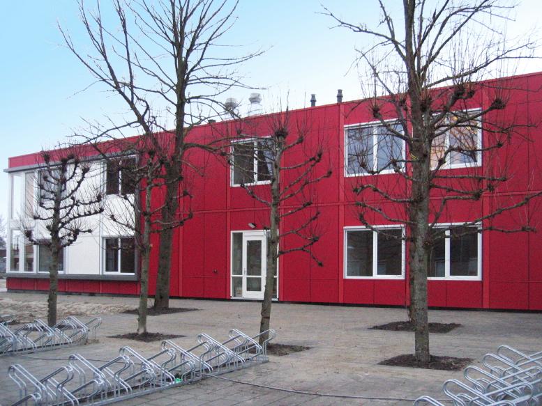[Nieuwe collegeruimte aan Cibogaterrein in Groningen]