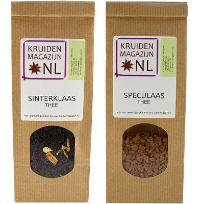 [afbeelding Sinterklaas- en speculaasthee van Kruidenmagazijn.nl]