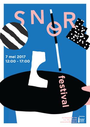 [Affiche Snorfestival 7 mei 2017 in Utrecht]