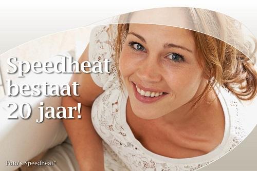 [Speedheat viert twintig jaar elektrische vloerverwarming in Nederland]