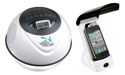 SplashVision introduceert de geavanceerde versie van haar Speakerbal: de draadloze en waterdichte SpeakerBal 2.