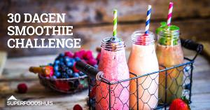 Superfoodshuis lanceert de gratis 30 dagen groene smoothie challenge