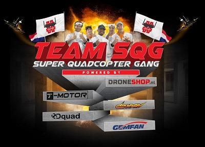 [Nederlands drone-race Team SQG heeft primeur met sponsordeal]