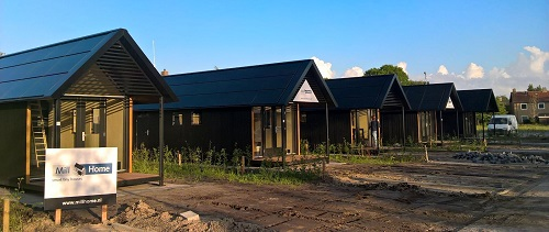[De Tiny House van Mill Home met Loci zonnepanelen dak]