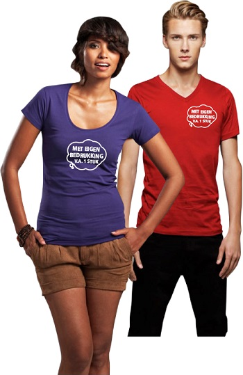 [T-shirt bedrukken – 15 zaken waar je op moet letten]