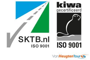 Touringcarbedrijf Van Heugten Tours erkend door SKTB