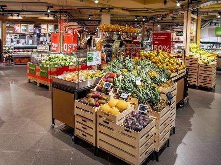 VBAT ontwerpt de winkel van goed eten