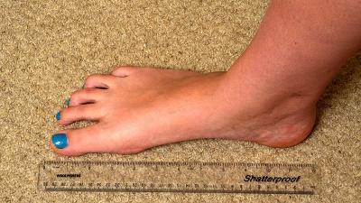 [Noord-Hollandse vrouwen hebben de grootste voeten]