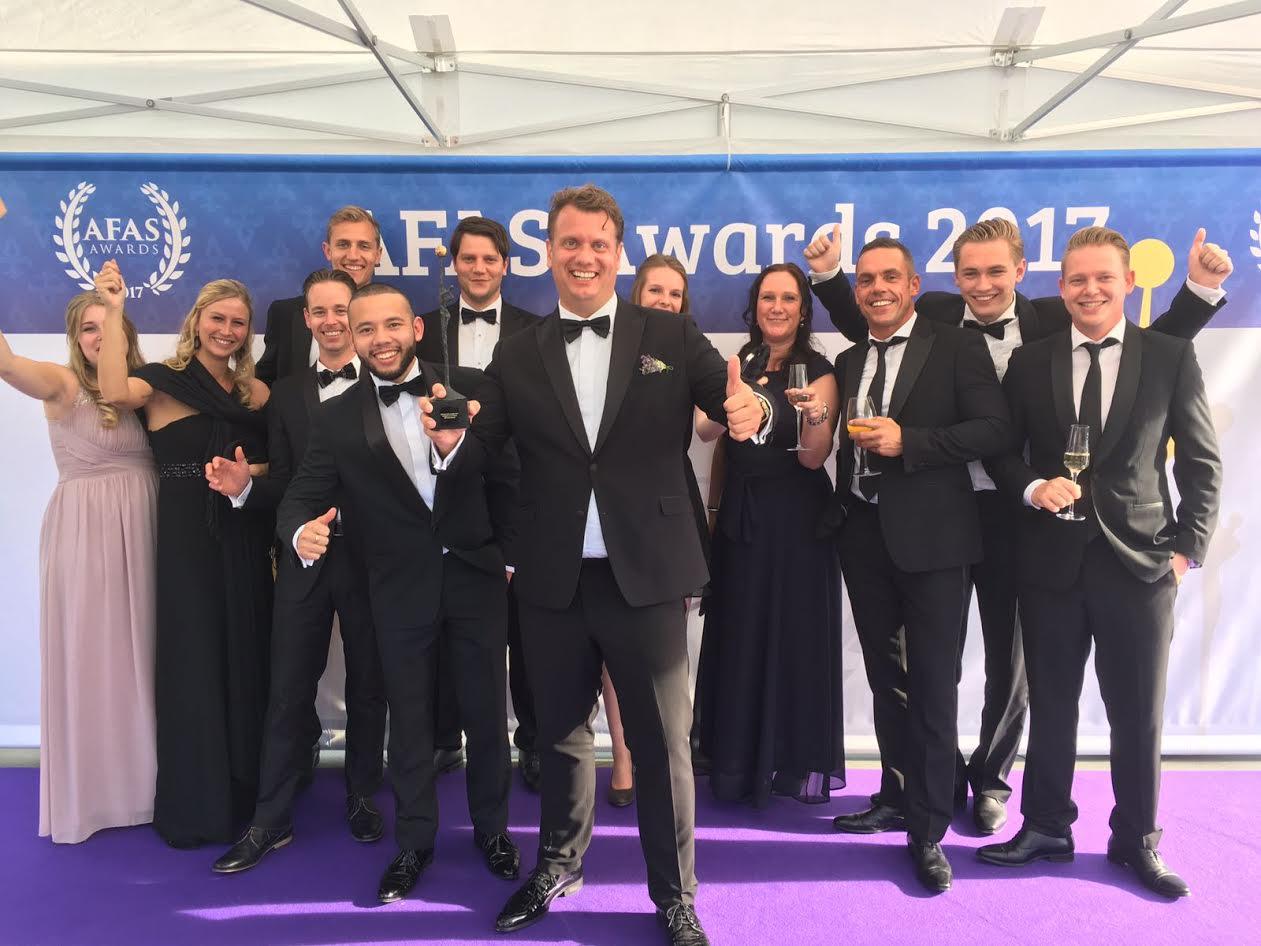 [VRB Adviesgroep wint AFAS award 2017]