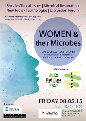 Micropia host het 1e symposium over het vrouwelijk microbioom